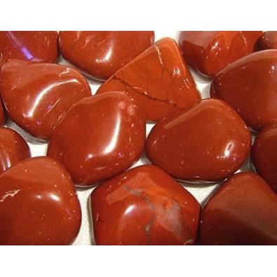 Jaspis czerwony (szlifowana bryłka)