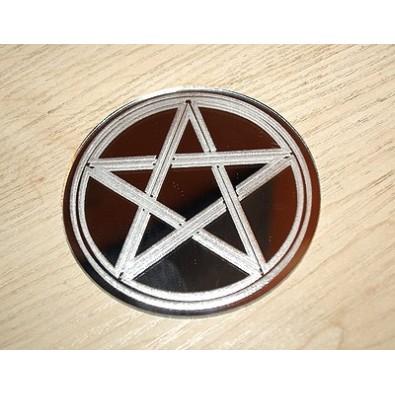 PENTAGRAM - amulet ochronny (na lustrze)
