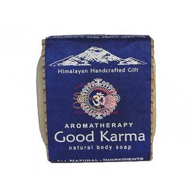 Mydło DOBRA KARMA - himalajskie, ręcznie robione (100g)