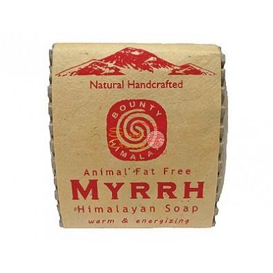 Mydło MIRRA - himalajskie, ręcznie robione (100g)