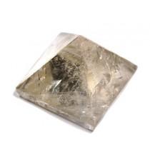 Piramidka - kryształ PRZYDYMIONY+RUTYL