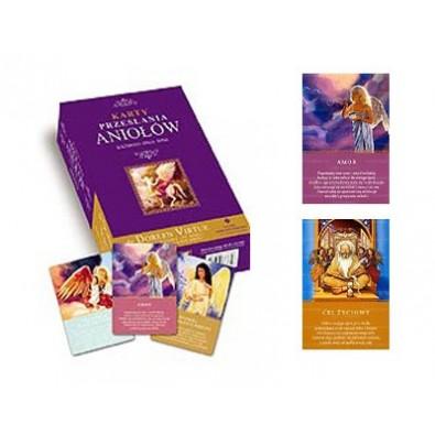 """Karty """"Przesłania aniołów"""" (książka + karty)"""