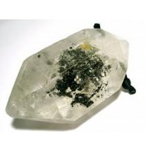 """Kwarc """"Diament Herkimer"""" (Pakistan, duże kryształki)"""