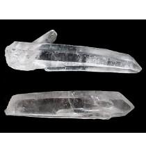 LASEROWE Kryształy Górskie, duże (nietypowe złoże brazylijskie)
