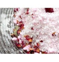 Sól do kąpieli RÓŻANA - naturalna sól krystaliczna (500g)