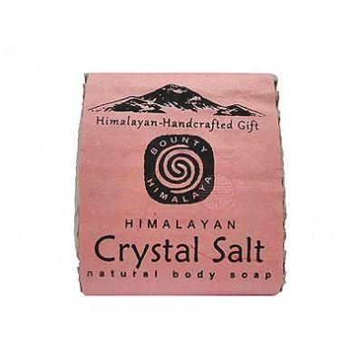 Mydło HIMALAJSKA SÓL KRYSTALICZNA - himalajskie, ręcznie robione (100g)