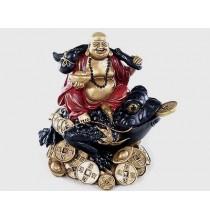 BUDDA i ŻABA DOBROBYTU (figurka)