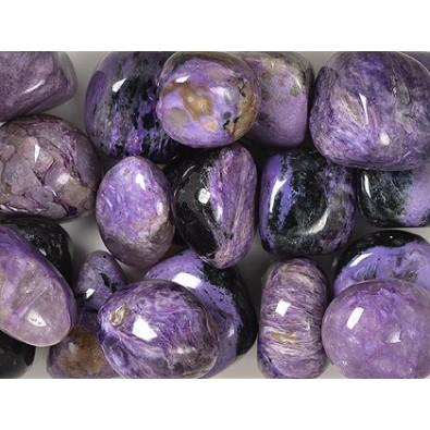 Czaroit (szlifowana, drobna bryłka) UNIKAT, kamień szamański