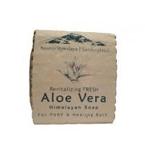 Mydło ALOESOWE - himalajskie, ręcznie robione (100g)