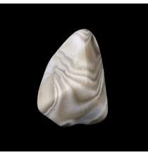Krzemień pasiasty (szlifowana bryłka)