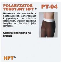 Polaryzator Torsyjny PT - 04 (opaska na brzuch i biodra)