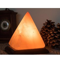 Lampka solna PIRAMIDA (sól himalajska)