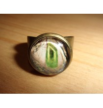 Pierścień RUNICZNY - URUZ, ręcznie robiony