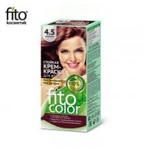 Farba do włosów NATURALNA - MAHOŃ Nr 4,5