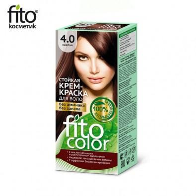 Farba do włosów NATURALNA - KASZTAN Nr 4,0