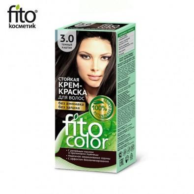 Farba do włosów NATURALNA - CIEMNY KASZTAN Nr 3,0