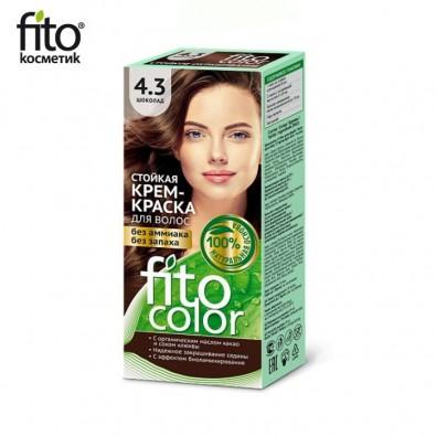 Farba do włosów NATURALNA - CZEKOLADA Nr 4,3