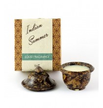Naturalne perfumy W KREMIE (6g) - kamienna szkatułka