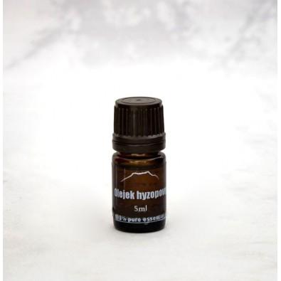 Hyzop (olejek eteryczny) PRZECIW STARZENIU, OCZYSZCZA ENERGIĘ