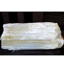 Selenit (DUŻY bryła naturalna) - oczyszczająca ozdoba do domu, gabinetu, sali warsztatowej
