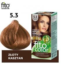 Farba do włosów NATURALNA - ZŁOTY KASZTAN Nr 5,3