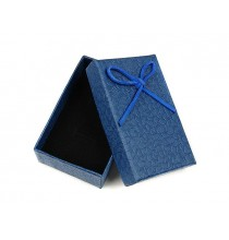 Pudełko ozdobne (niebieskie) 8/5 cm