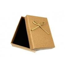 Pudełko ozdobne (beżowe) 9/7 cm