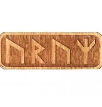 Amulet ZDROWIA (drewniany skrypt runiczny)