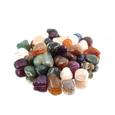 MIX KAMIENI - DUŻE (naturalne minerały szlifowane)
