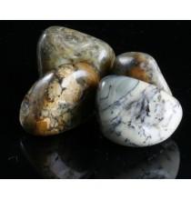 OPAL turecki (dendrytowy) - MERLINIT (szlifowana bryłka)