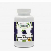 OPC - PESTKI WINOGRON, 640 mg (kapsułki wegetariańskie 100 szt)