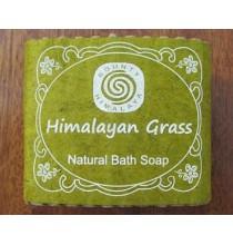 Mydło TRAWA HIMALAJSKA - himalajskie, ręcznie robione (100g)