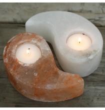 Świecznik solny YIN-YANG (dwuczęściowy)