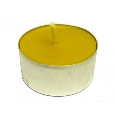 Świeczka TEA-LIGHT z wosku naturalnego