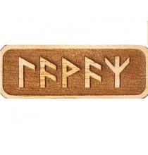 Amulet DLA KOBIET (drewniany skrypt runiczny)