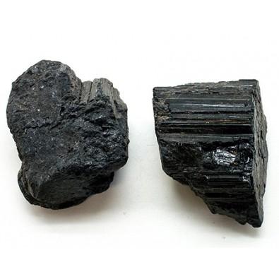 Turmalin czarny naturalny (nieregularna bryłka)