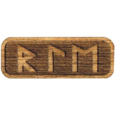Amulet WSPOMAGAJĄCY ODCHUDZANIE (drewniany skrypt runiczny)