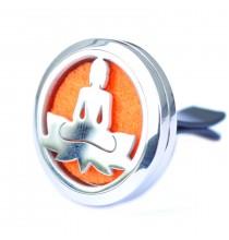 Dyfuzor samochodowy - BUDDA (stal nierdzewna, wymienne wkłady)
