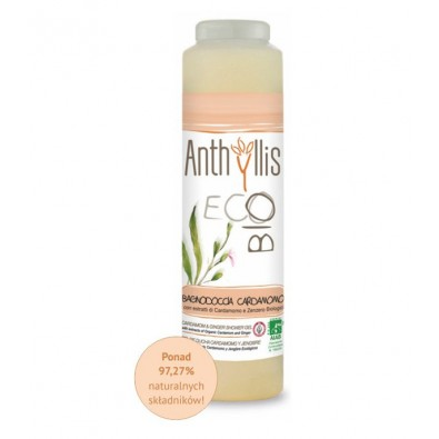 KARDAMON I IMBIR - płyn pod prysznic, Anthyllis - BIO, z ekologicznych upraw! (250 ml)