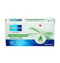 Czopki Dopochwowe GYNTIMA FORTE (probiotyki i szałwia) - 5 szt