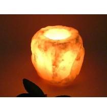 Świecznik solny (sól himalajska) duży