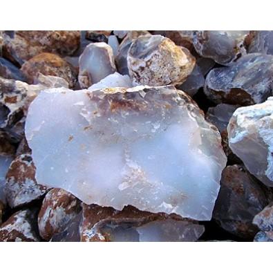 Chalcedon niebieski KORONA (bryłka naturalna)