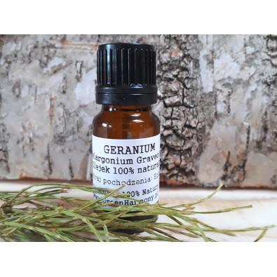 Geranium (olejek eteryczny GreenOil) - PIĘKNY ZAPACH (unikatowy, esencjonalny olejek)