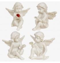 Aniołek z Kamieniem Szczęścia (5 cm)