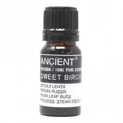 Brzoza Słodka (Betula Lenta), ROSJA - olejek eteryczny - LECZY SKÓRĘ! Silniejszy od drzewa herbacianego