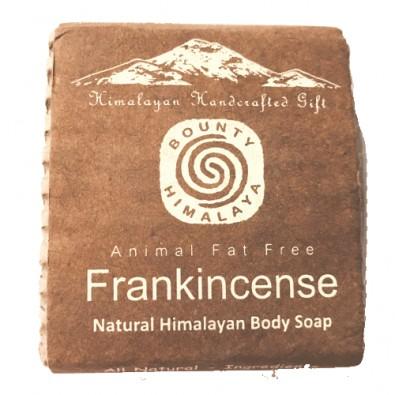 Mydło FRANKINCENSE - OLIBANUM - himalajskie, ręcznie robione (100g)