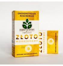 Mydło Naturalne - ZŁOTO MONOJONOWE (100g) - POLSKIE, najwyższa jakość!