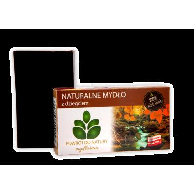 Mydło Naturalne - DZIEGCIOWE (brzozowe), łuszczyca, trądzik (100g) - POLSKIE, najwyższa jakość!
