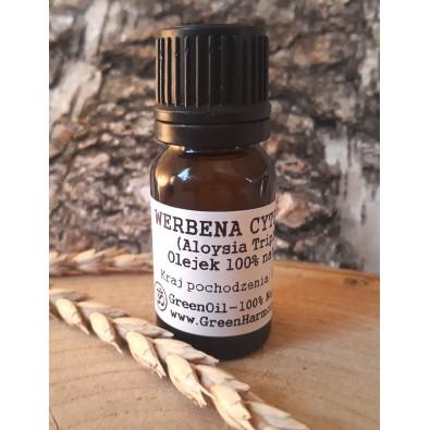 Werbena Cytrynowa (olejek eteryczny GreenOil) - NA KOMARY i MOCNE UZDRAWIANIE DUCHOWE