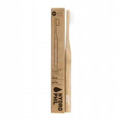 Szczoteczka do zębów HYDROPHIL - bambusowa (medium) - VEGAN!